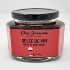 Porto wine and pink peppercorn jelly - 190ml - Chez Francois -